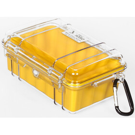 Peli MicroCase 1010 Sacoche, clear/yellow